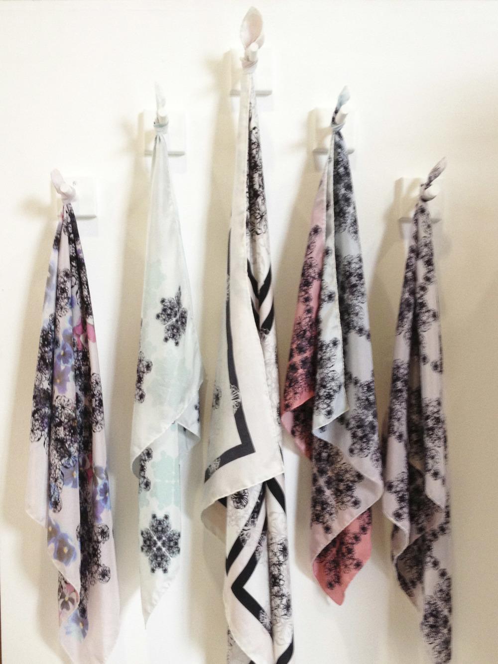 "Rebecca Davey ""Fashion, nature, structure, layering, manipulation, texture, laser cut, digital and screen print."""