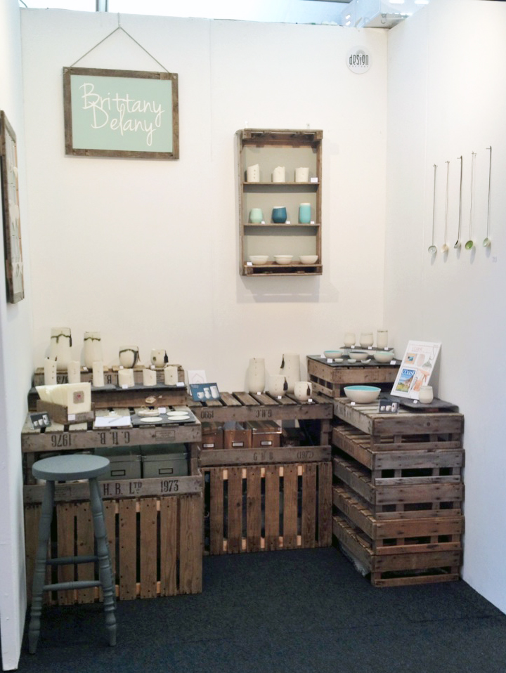 Brittany Delany Ceramics Stand complete!