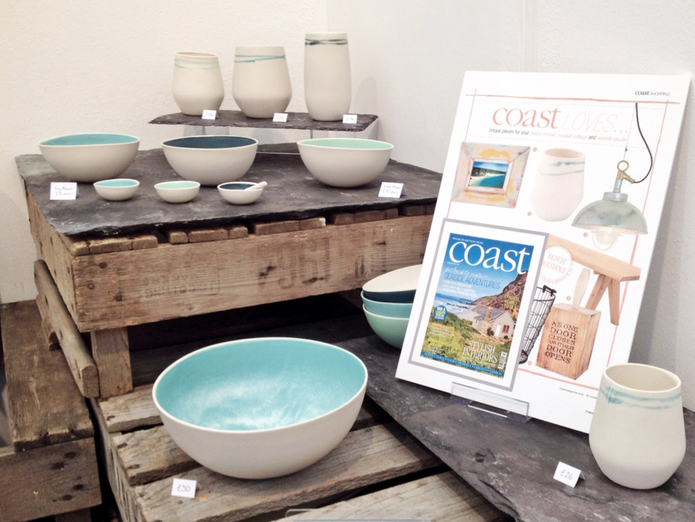 The Seasalt Collection together with its feature in Coast magazine