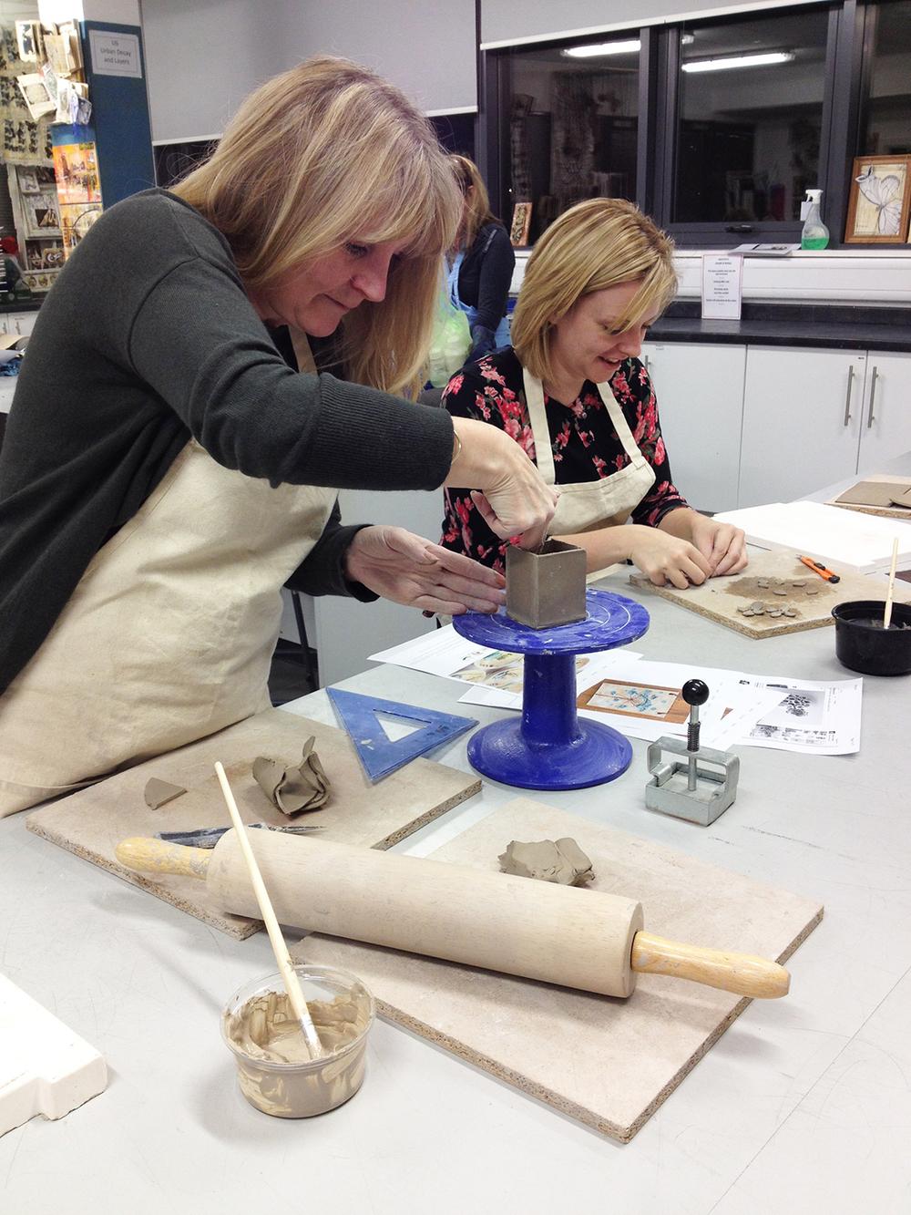 Ceramics Adult Education Course, Aquinas College.