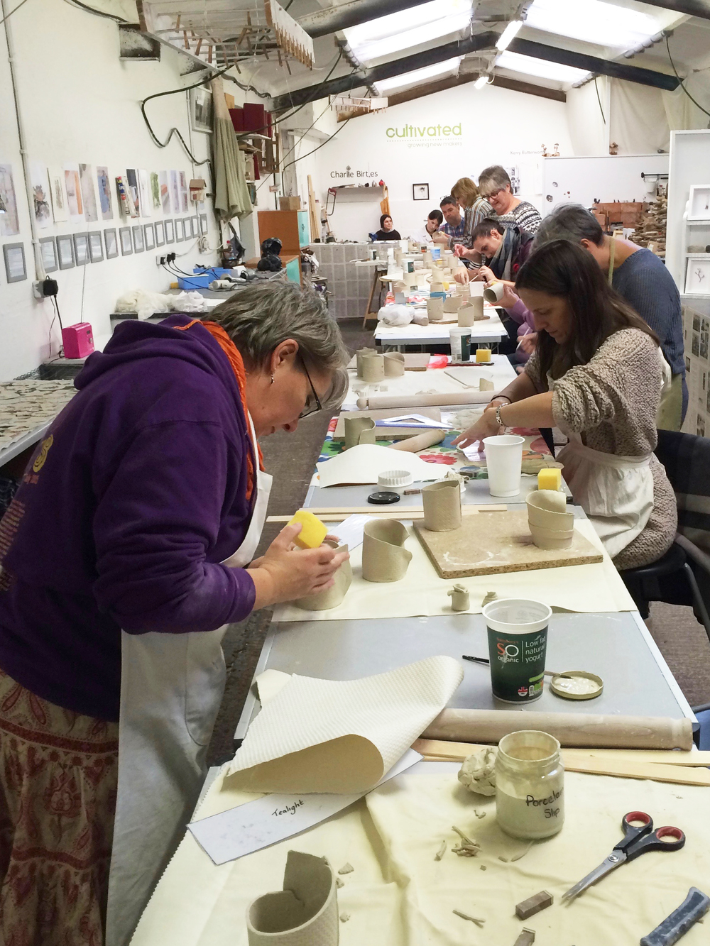Unit Twelve- Porcelain Tealights & Decorations Workshop