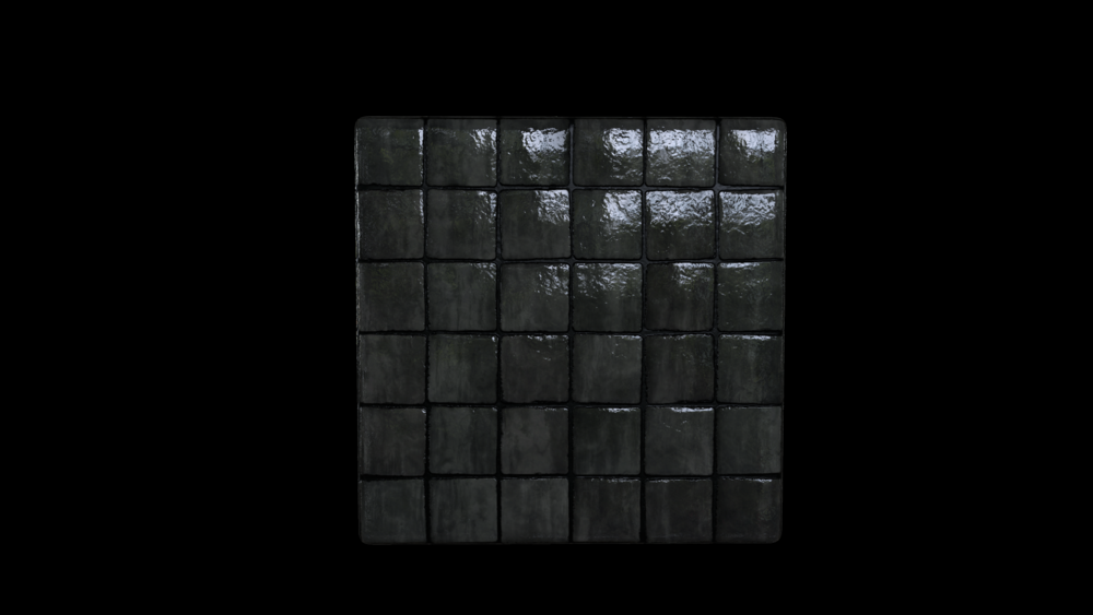 Wet stone tiles
