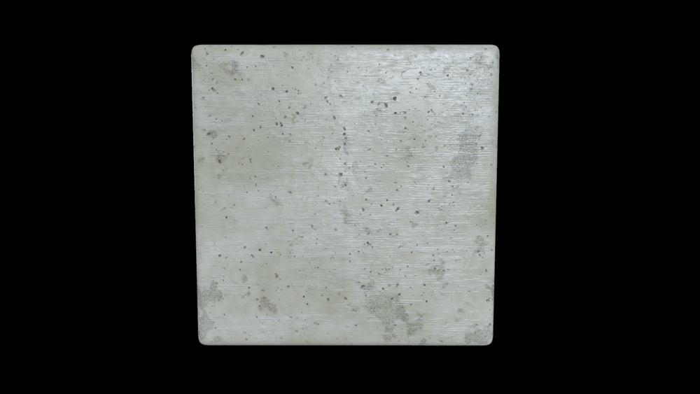 Bare concrete