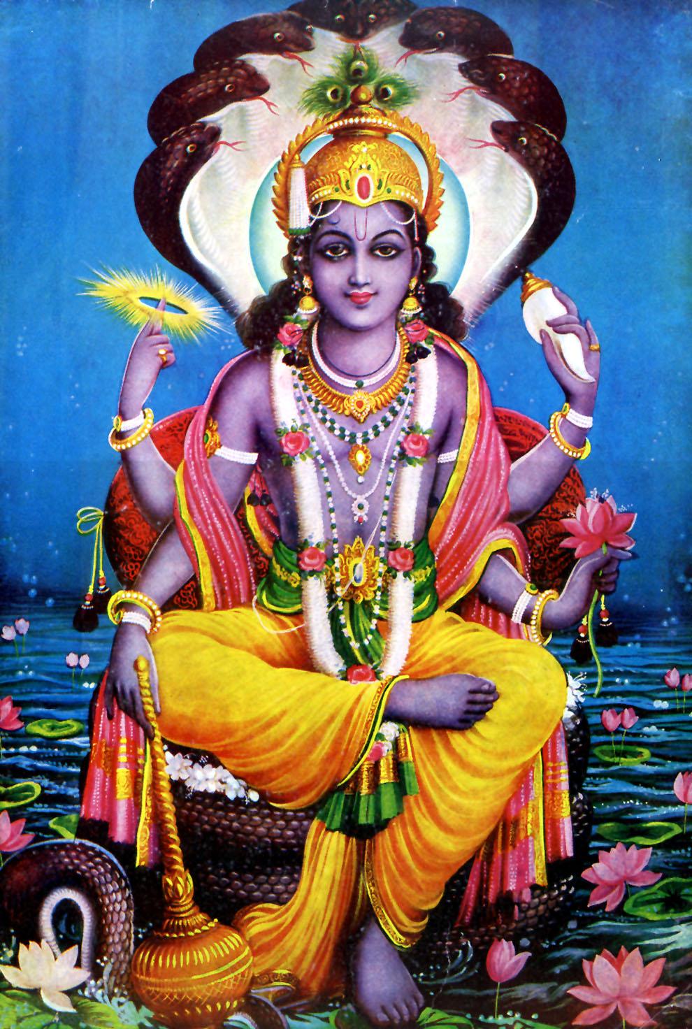 Vishnu, The Protector