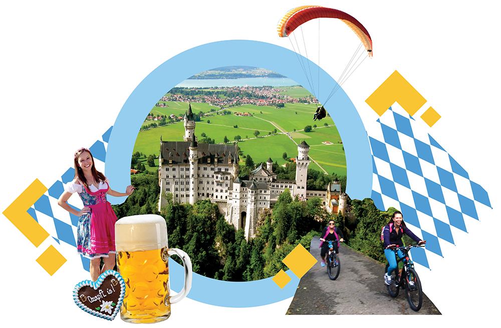 Hiken, Biken, und FLIEGEN - Experience Bavaria + Oktoberfest