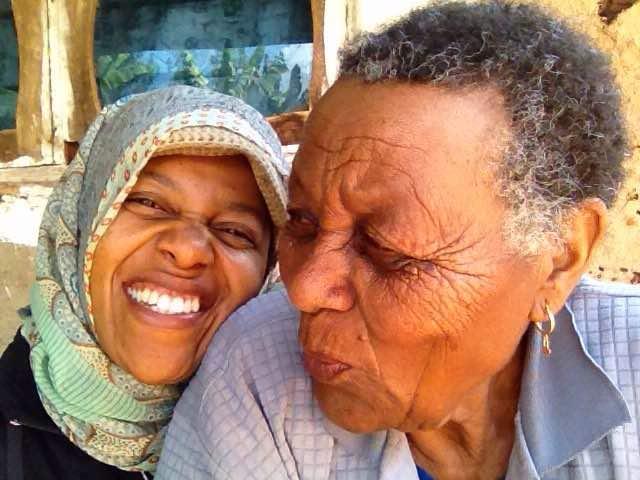 Cocaya and her grandma