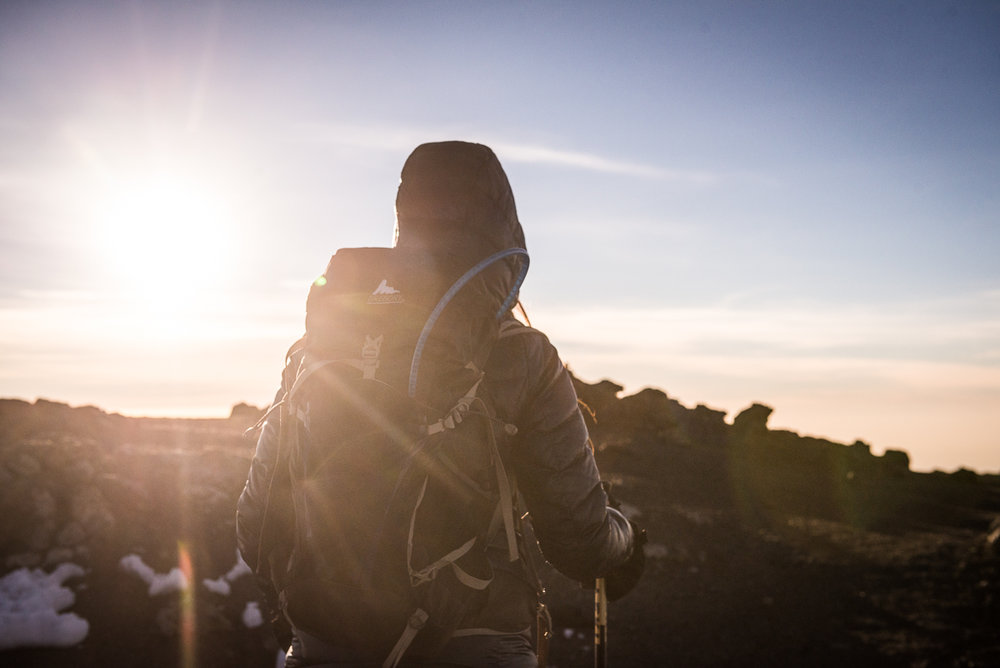 DAY 7:SUMMIT SISTERS! - BARAFU CAMP to UHURU PEAK to MILLENNIUM CAMPElevation: 4,600 - 5,895 - 3,800 mHiking Time:7 - 8 hrs ascent / 5 - 8 hrs descentDistance:5 km ascent / 11 km descent