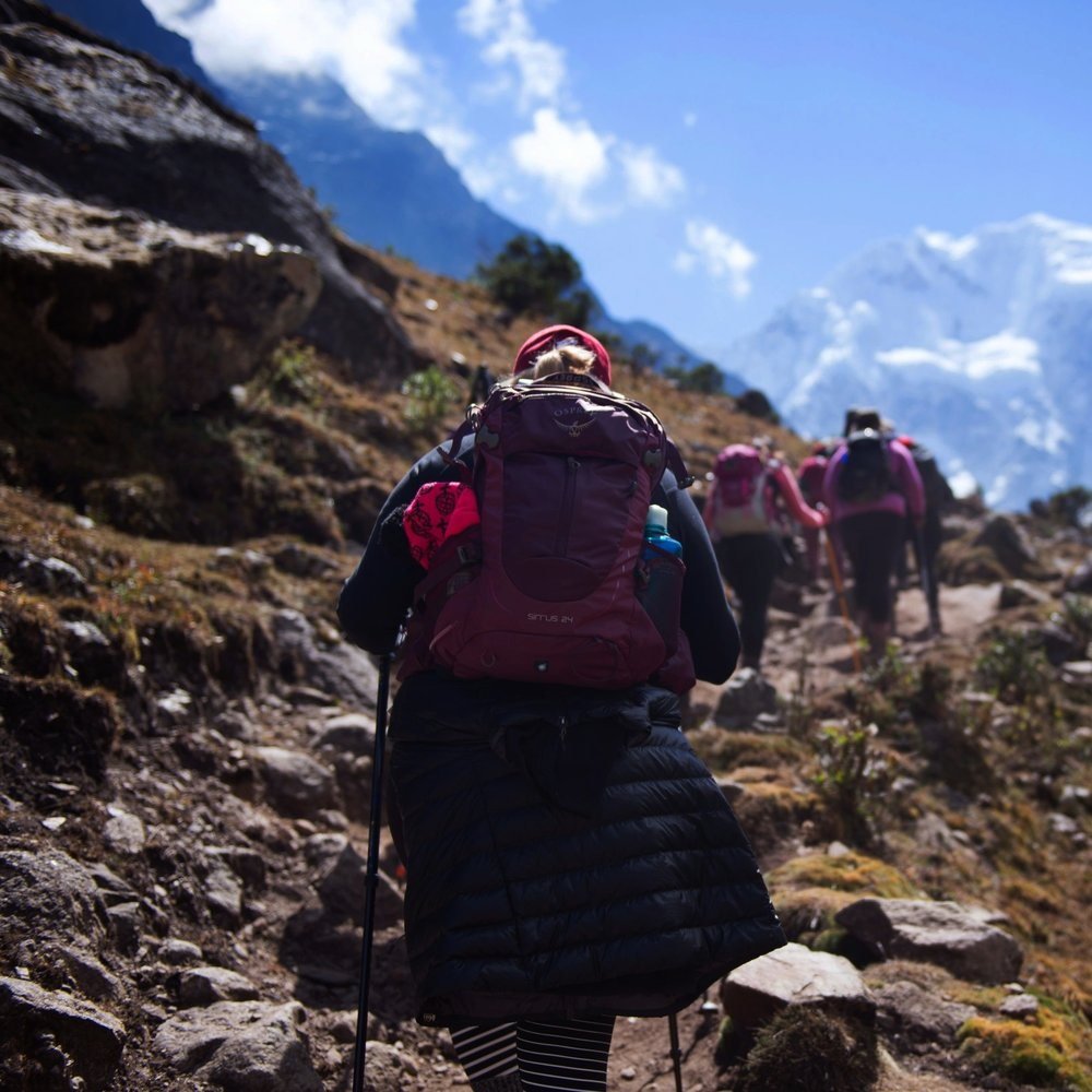 64 WOMENHAVE HIKED3,328 KMOF ANCIENTINCAN TRAILS - PERU