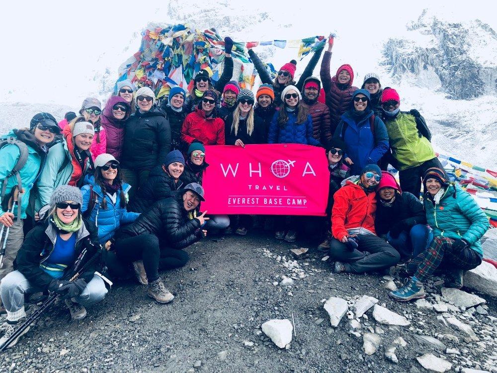 WHOA travel Everest Base Camp