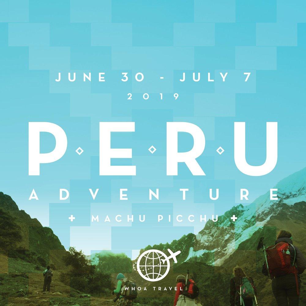 JUNE 30 - JULY 7 - 2019ALPACA YOUR BAGS