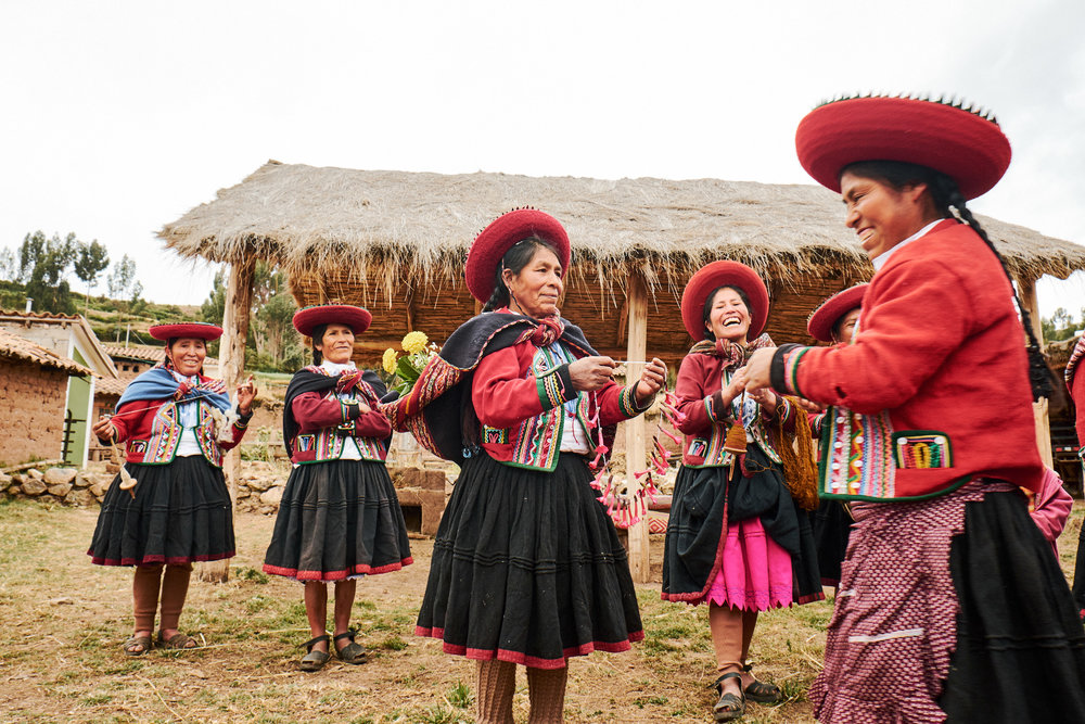 DAY 8:WHERE THE HEART IS - CHINCHERO, PERU