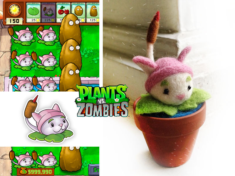 Cattail from Plants vs. Zombies