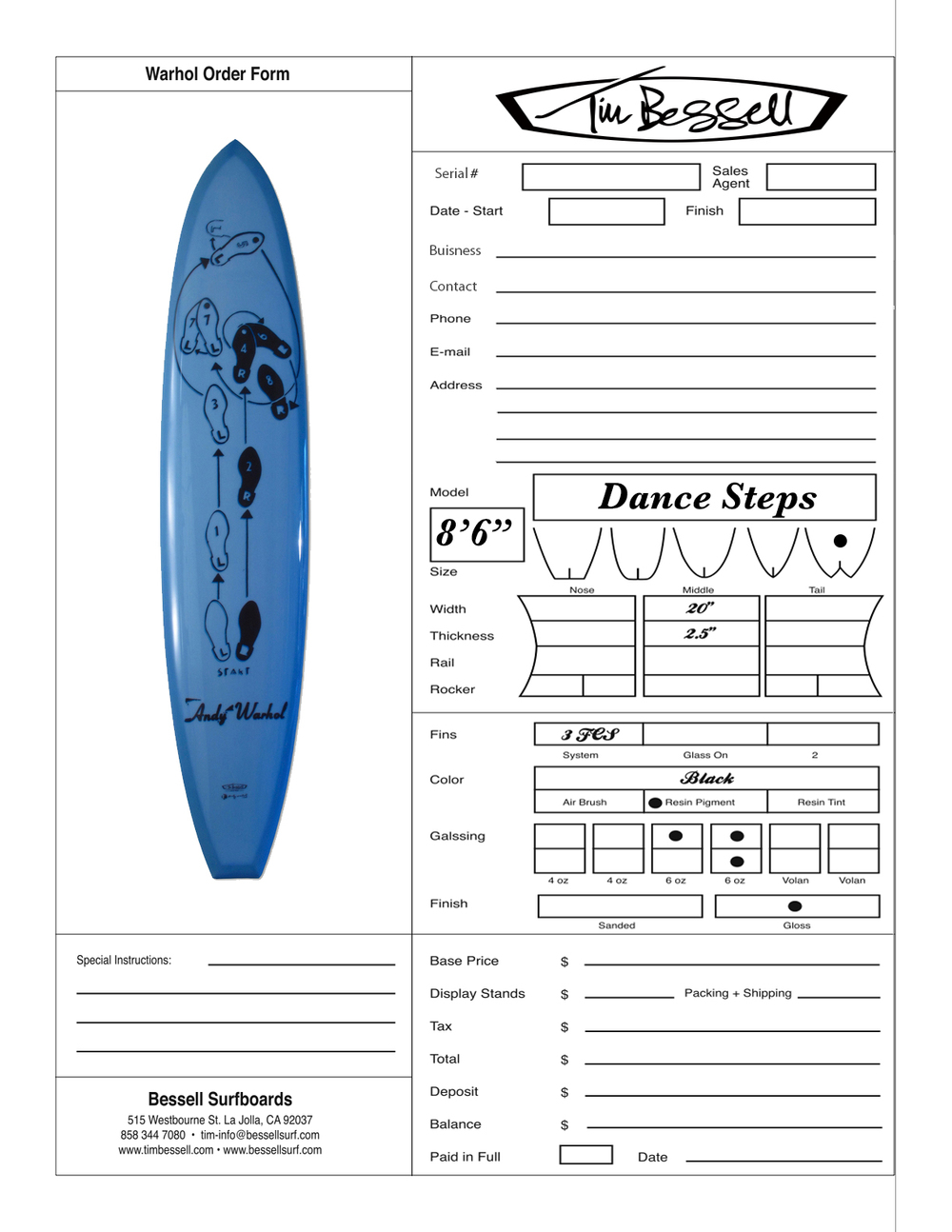 "Click Here For ""Dance Steps"" Order Form"