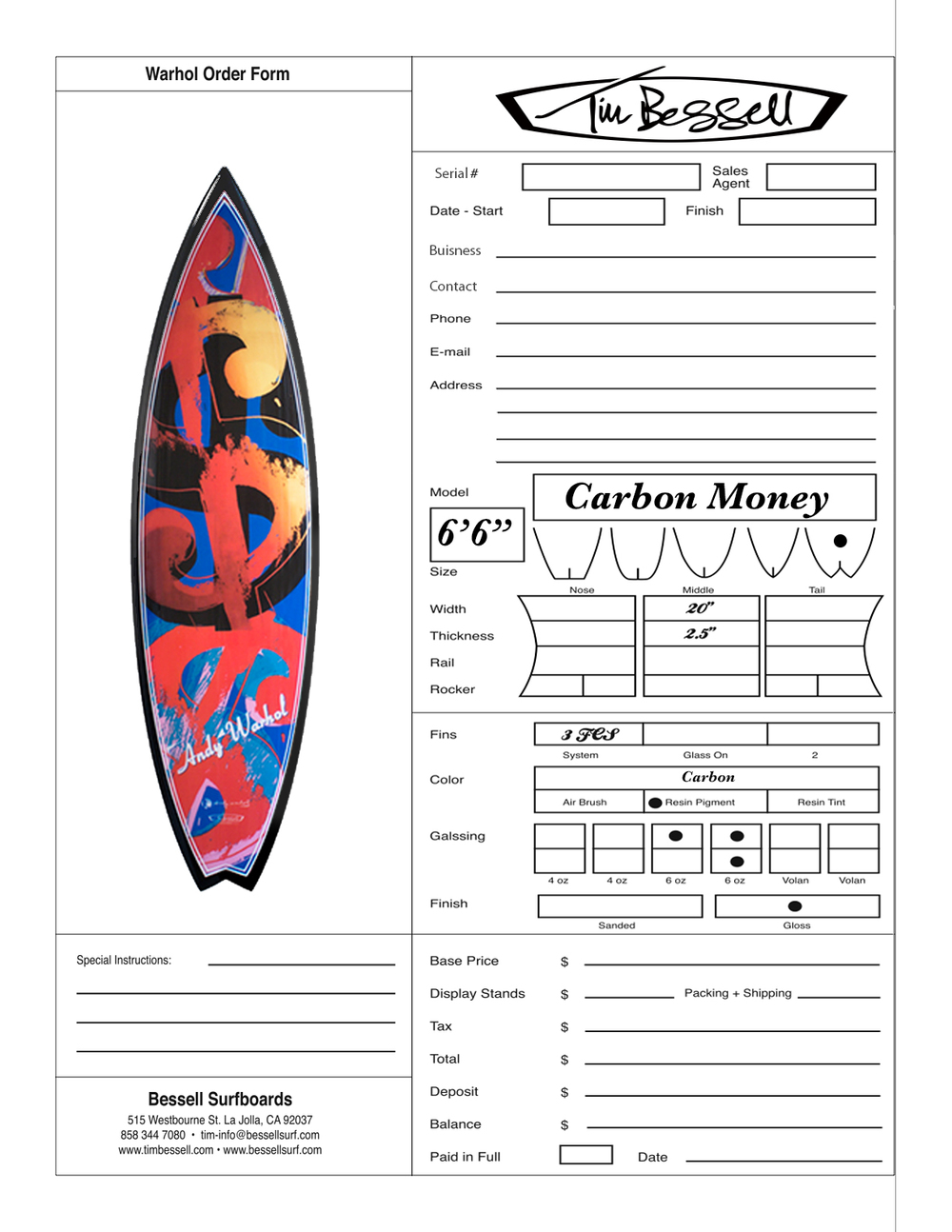 "Click Here For""Carbon Money"" Order Form"