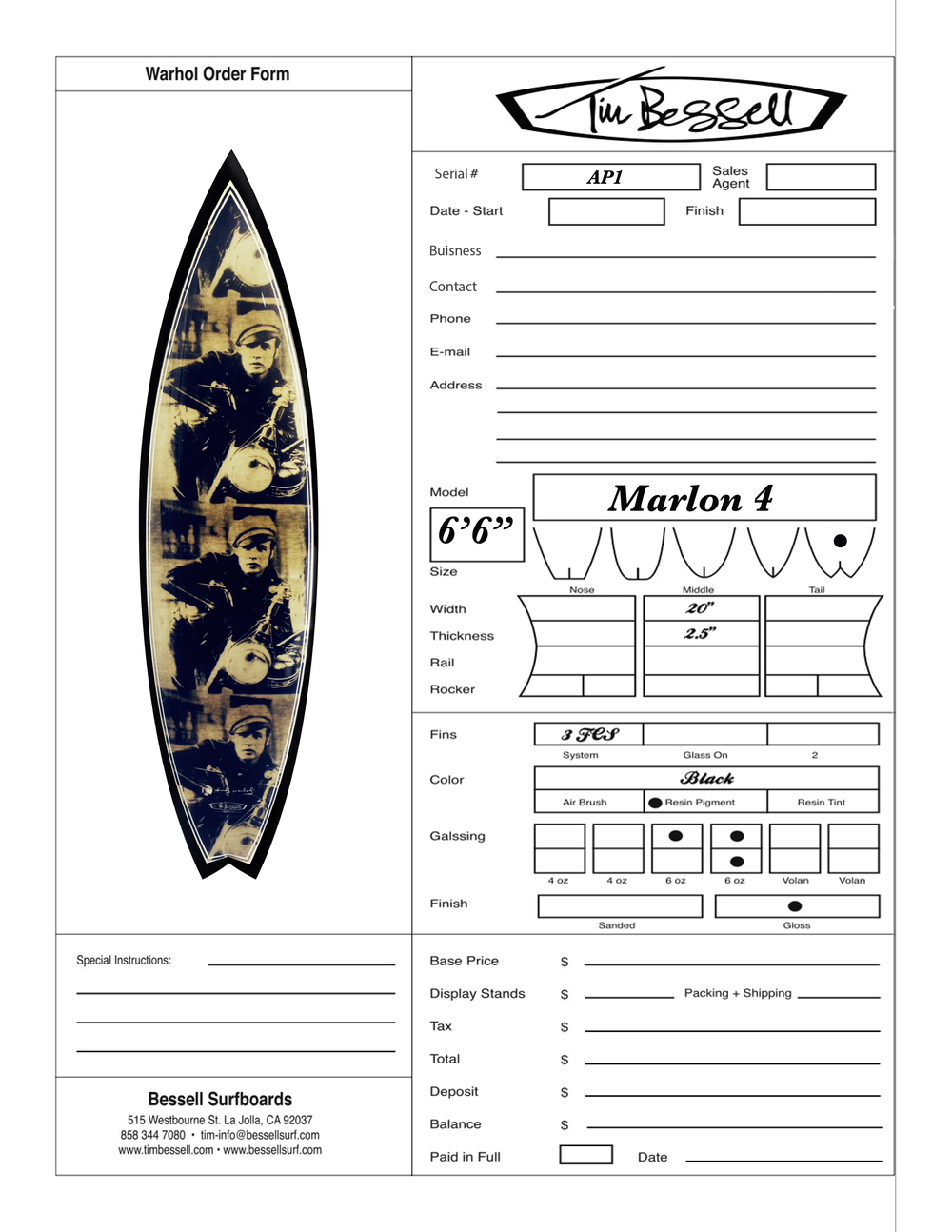 "Click Here For ""Marlon 4"" Order Form"