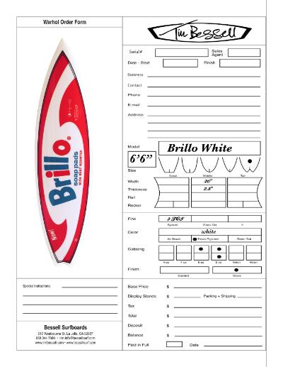 """Click Here For """"Brillo White"""" Order Form"""