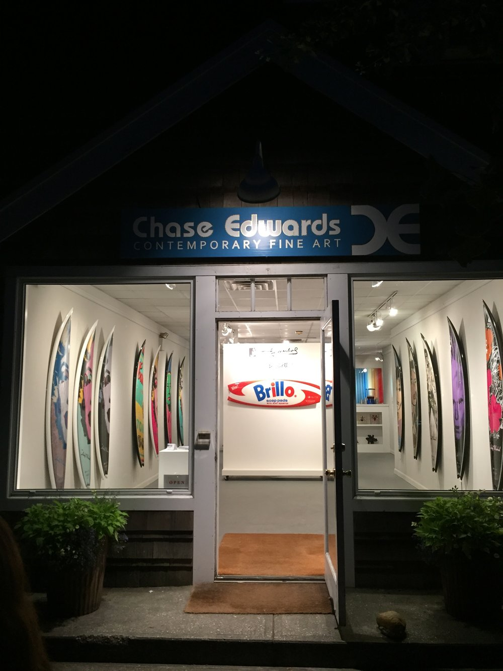 Chase Edwards Contemporary Fine Art  2462 Main St.  Bridgehampton, NY 11932