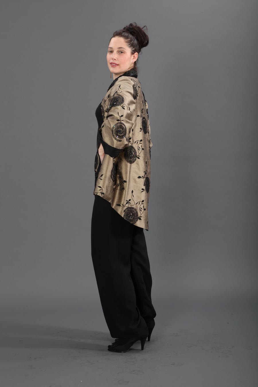 shantung swoop hem embroidered jacket.jpg