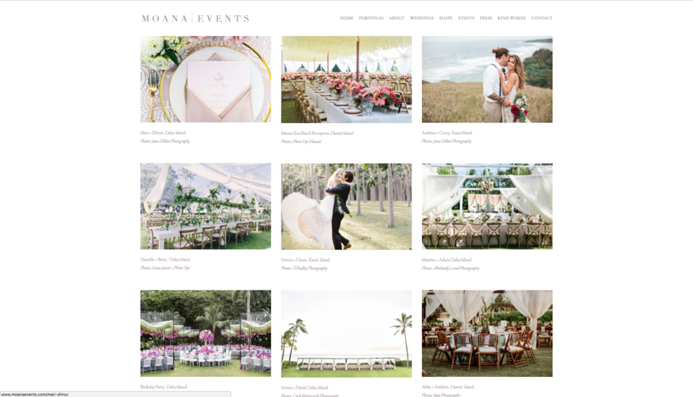 - MOANA EVENTS