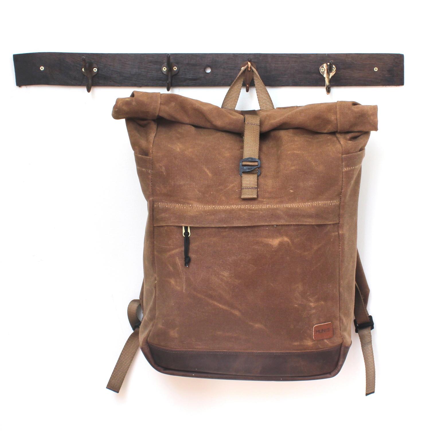 7d0553ea9 Porto Rolltop Backpack - Discontinued — Munie Designs