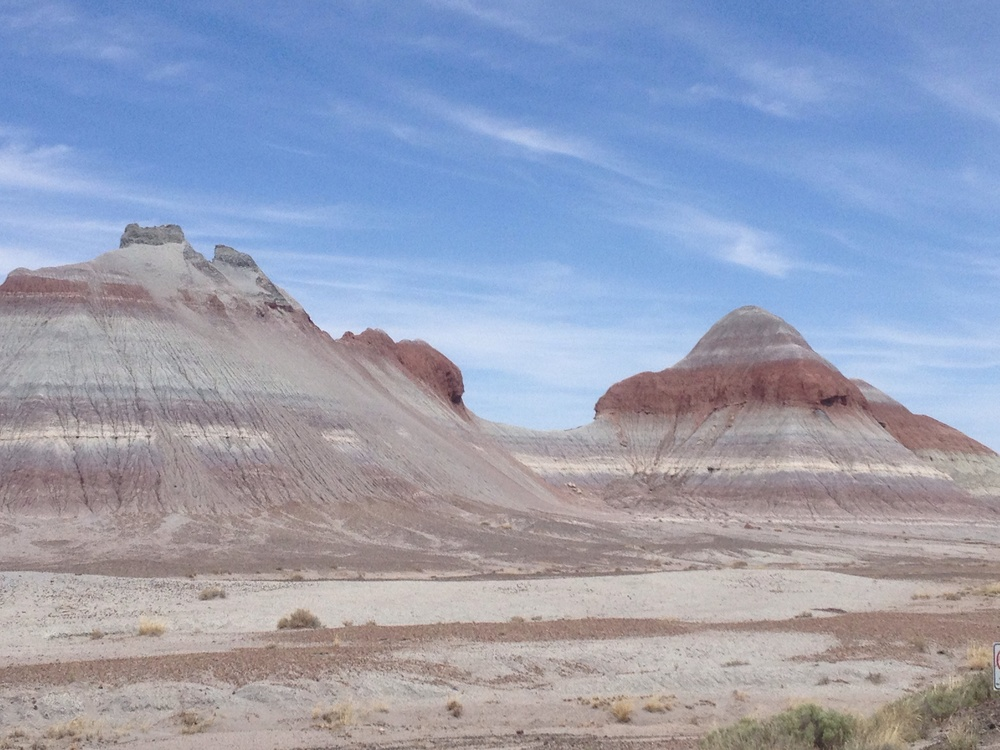 Petrified Wood National Park, Arizona.