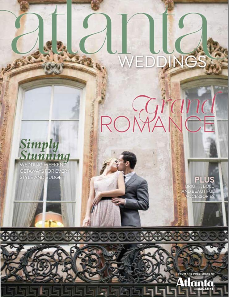 Atlanta Weddings Magazine -  From Savannah With Love  - Harwell Photography
