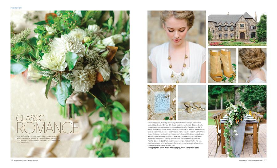 Weddings Unveiled Fall 2014 // Classic Romance