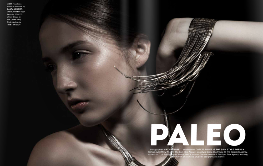 Jute Magazine, November 2014, Paleo, Max Eremine