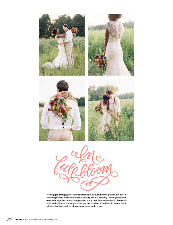 Southern Weddings Magazine // V7