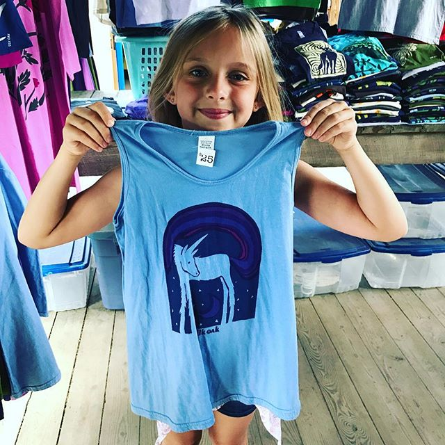 "Best quote of the weekend @ithacafarmersmarket. ""Who wouldn't want a Unicorn?!?"" Who indeed? #ithacaisunicorns  #silkoak #madeinithaca #fourthofjuly"