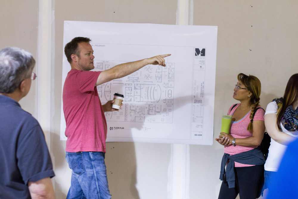 Showing the plans!