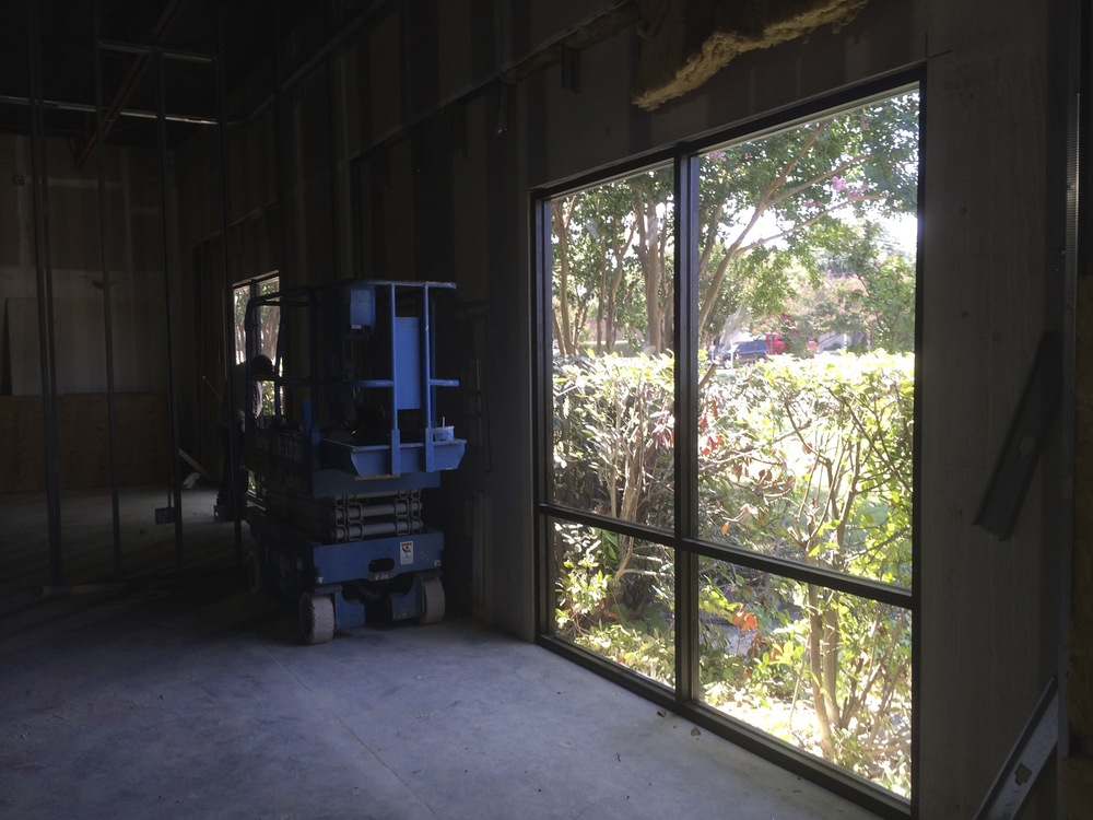 This is a new window. We have two new windows in the space that will benefit 3 office areas.