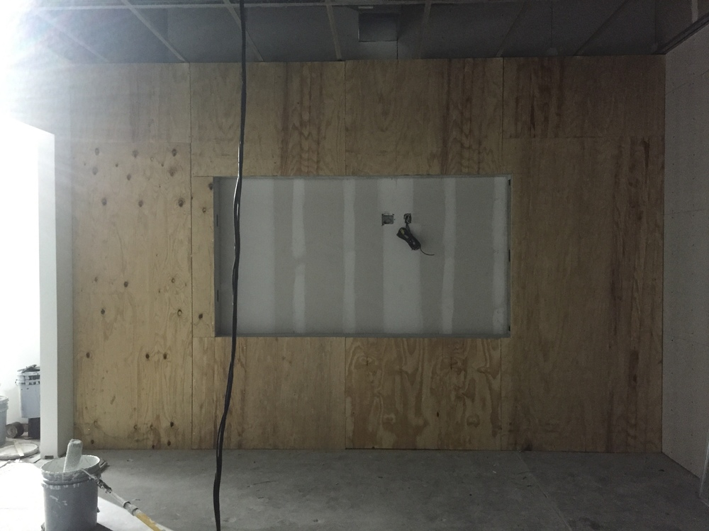 Our conference room will have a nice TV mounted seamlessly with wall.