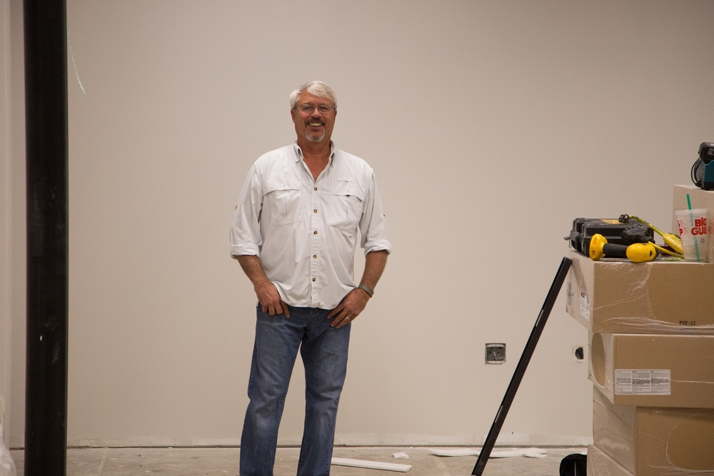 Here's Jeff again.  In case you haven't been keeping up, he's our general contractor and is overseeing the entire project.
