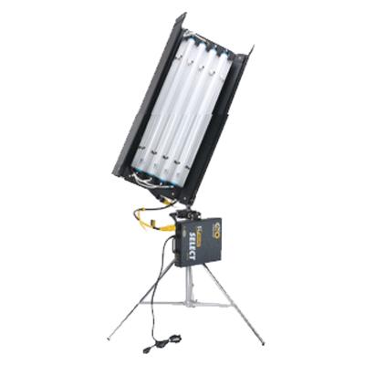 Kino 2 pieds 4 tubes - Ballastre - Fil électrique 25 pieds - 5 tubes daylight - 5 tubes tungsten - C-Stand - Sac de sable - Sac de transport 50$/60$/150$