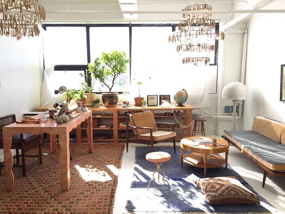 The Artemis Design Co. studio in Allston, MA.