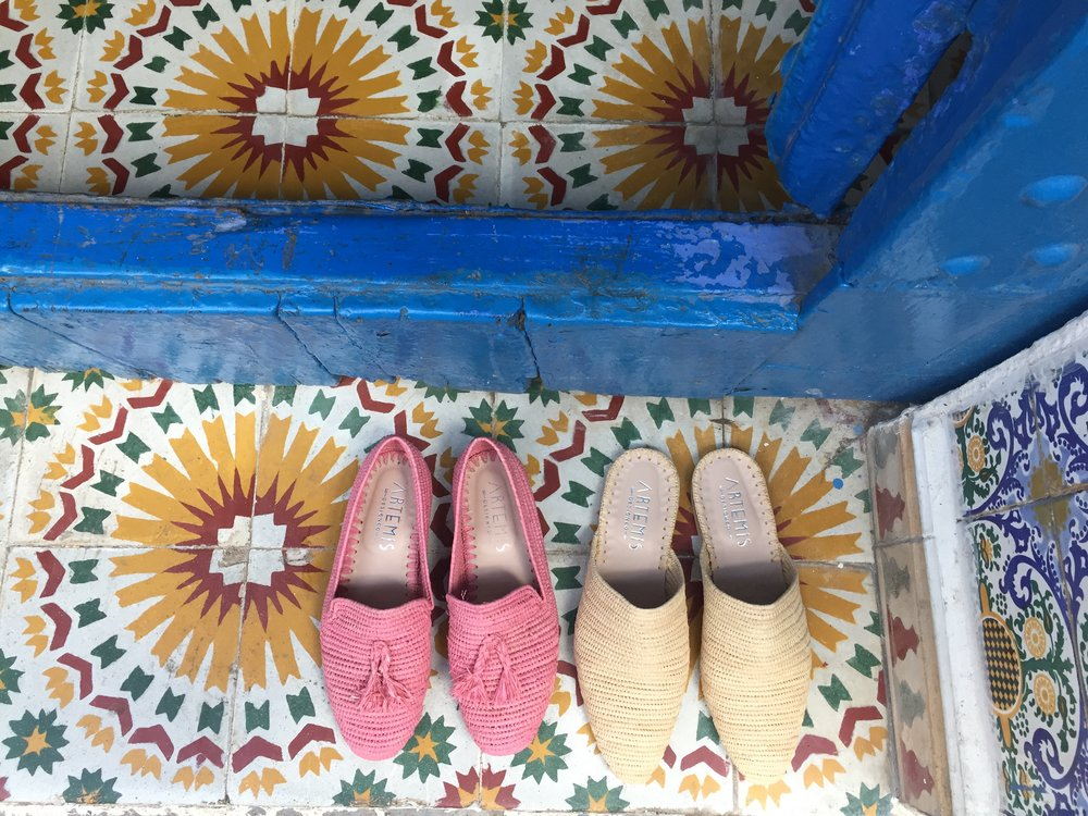Shop Raffia Shoe Collection