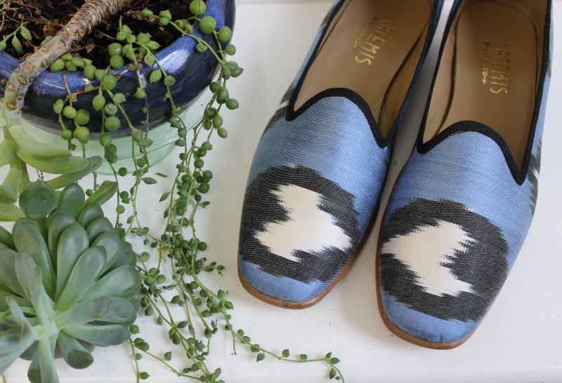 shop silk loafers