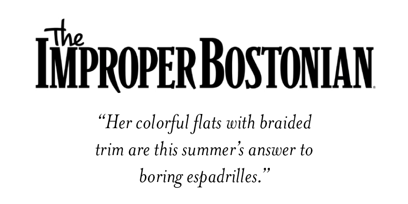 The Improper Bostonian - Artemis Design Co. Kilim Shoes
