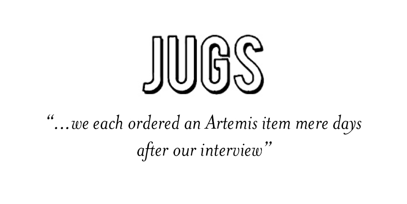 JUGS - Artemis Design Co.