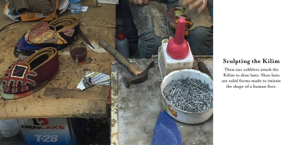 Sculpting the kilim