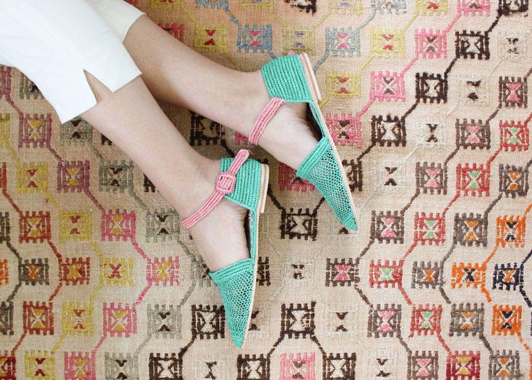 Shop Raffia Orsay Sandal