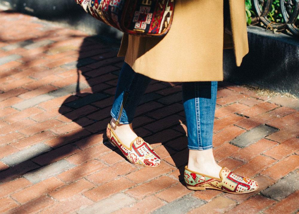 Women's Havana Smoking Shoe