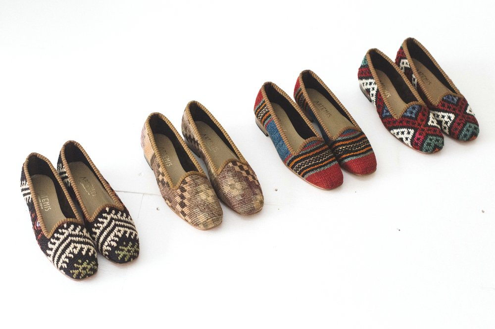 shop women's Classic Kilim Loafers