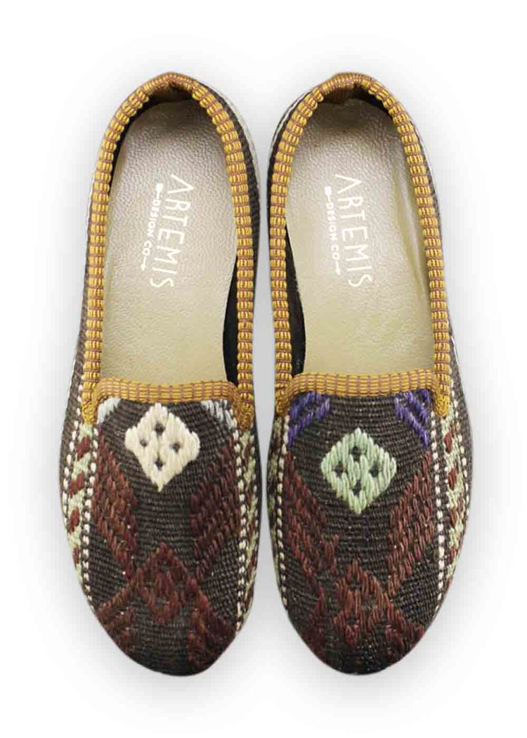 artemis shoes. size 37 (us 7) women\u0027s kilim smoking shoe artemis shoes design co.