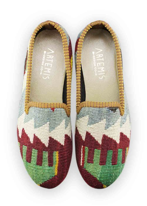 artemis shoes. size 38 (us 8) women\u0027s kilim smoking shoe artemis shoes m