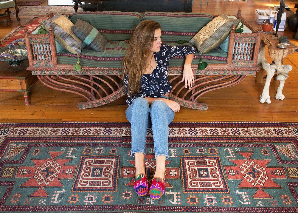 SHop Women's Kilim SMoking Shoes
