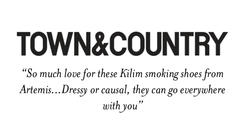 Town and Country- Artemis Design Co. Kilim Shoes