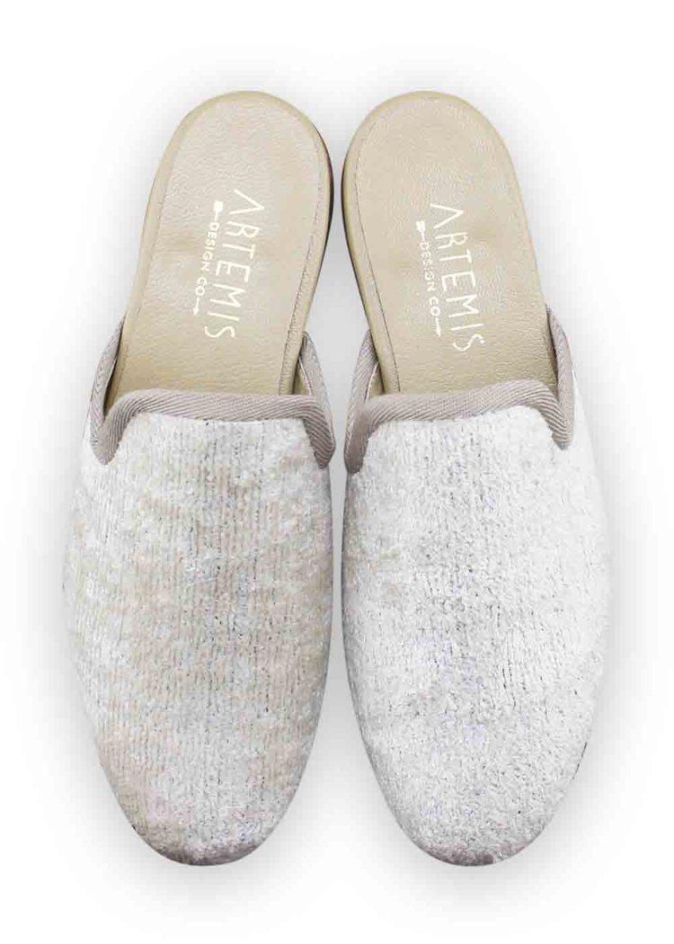 silk velvet loafers