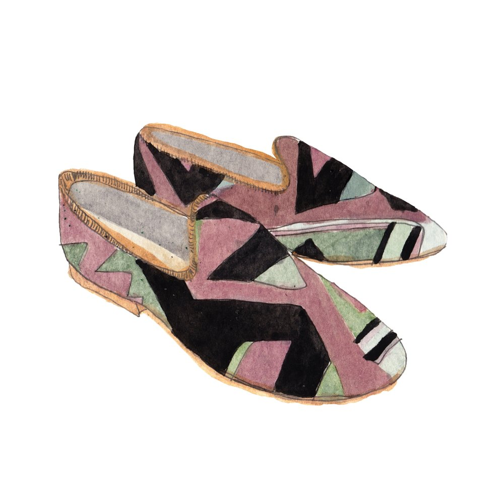 Men's Kilim Smoking Shoe - For every guy on your list.